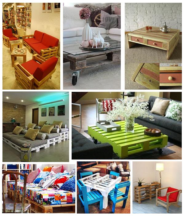 Мебель для спальни и отдыха из европаллет