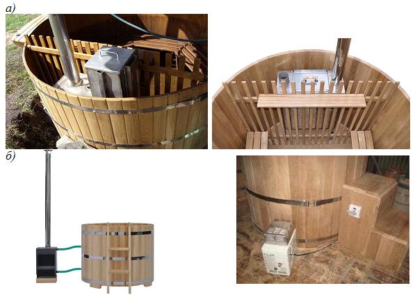 Устройство печки в японской бане
