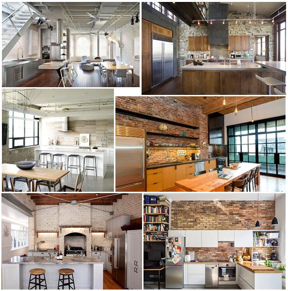 Кухня в стиле лофт (loft)