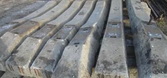 Использование б/у железобетонных шпал для дорожного покрытия проездов и пешеходных дорожек