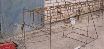 Стенд для изготовления арматурных каркасов на стройплощадке