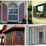 Как правильно выбрать ставни на окна для загородного дома. Виды ставней, их достоинства и недостатки