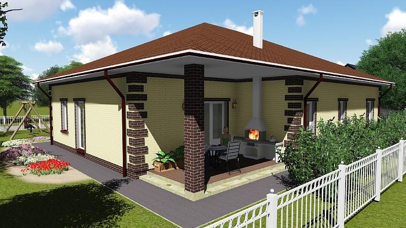 Строительство домов, дач, проектирование - Проект под