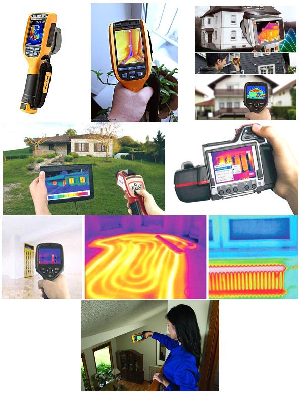Примеры тепловизоров и работы с ними