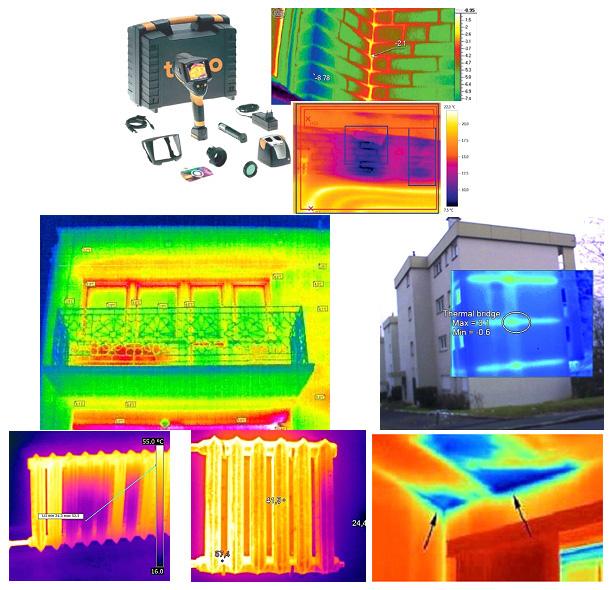 Тепловизионные снимки (термограммы)