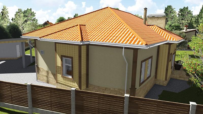 """Жилой одноэтажный дом """"Роща"""" - типовой проект"""
