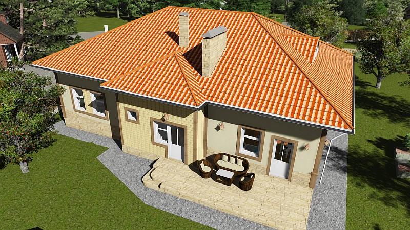 "Визуализация проекта жилого дома ""Роща"""