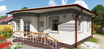 Минидом «Студия-1» — проект бюджетного дачного жилья