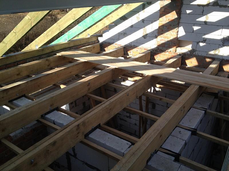 Конструкции деревянного чердачного перекрытия
