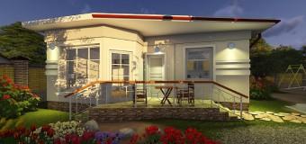 Проект минидома «Студия-2» — жилье с возможностью поэтапного строительства