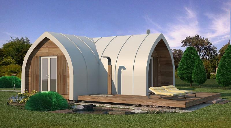 "Проект жилого дома ""Лотос"" - визуализация"