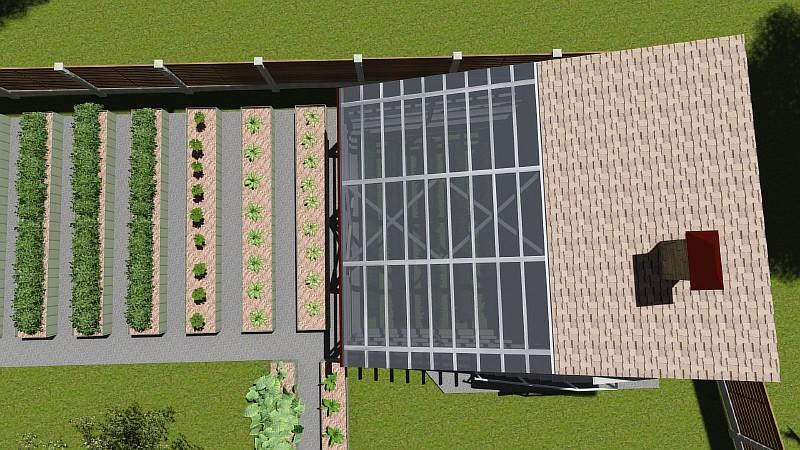 Визуализация проекта вегетария
