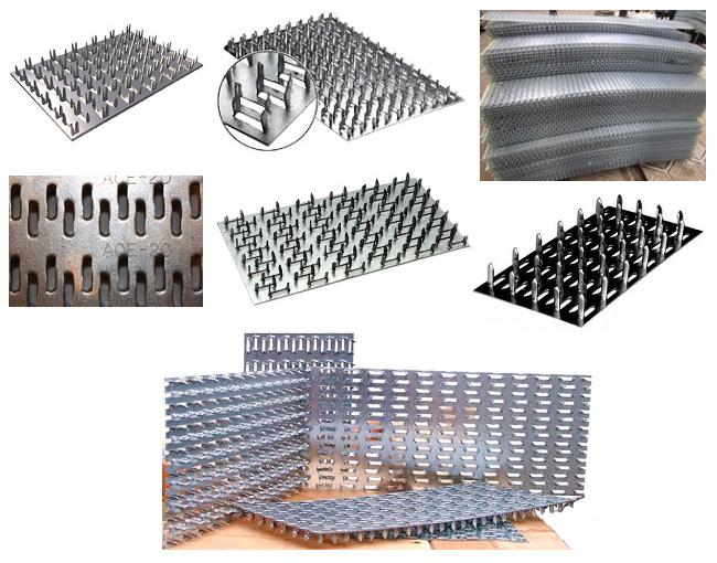 Металлозубчатые пластины