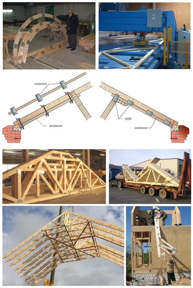 Изготовление и монтаж деревянных конструкций с МЗП