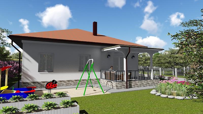 "Проект загородного дома ""Удянский-2"" - визуализация"