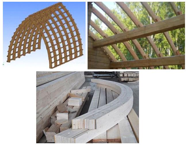 Конструкции арочного дома