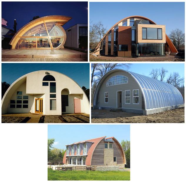Капитальные арочные дома