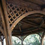 Реализация деревянной беседки «Ажур»