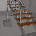 Как уменьшить стоимость лестницы в загородном доме?