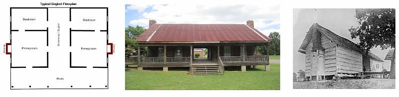 Модульный дом в стиле «dogtrot»