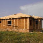 Фотоотчет: реализация проекта дома «Эко-1» из прессованной соломы
