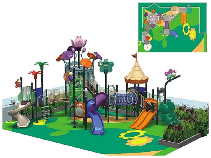 Игровой комплекс для детских площадок