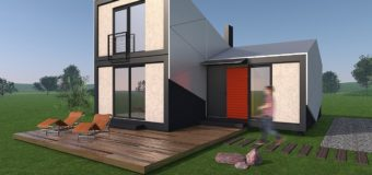 Проект модульного дома «Мандарин»