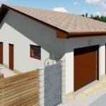 Проект гаража для двух автомобилей с подвалом «Парочка 2»