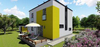 Проект двухэтажного дома «Супербюджетный»