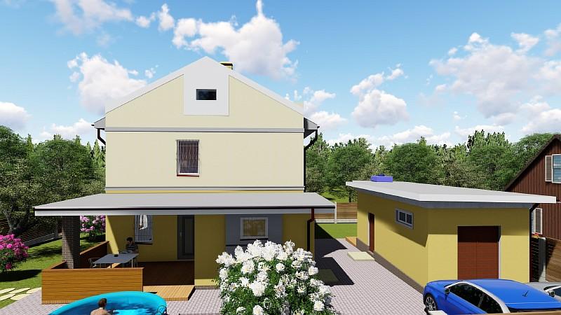 """Проект двухэтажного дома """"Успешный"""""""
