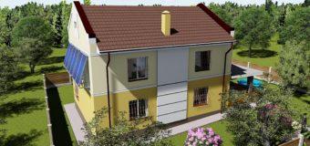 Проект жилого двухэтажного дома «Успешный»