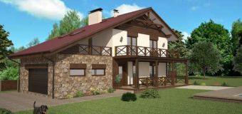Проект жилого дома «Альпийское шале»