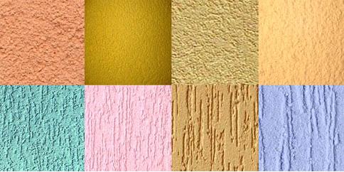 Влияние фактуры фасада на восприятие цвета или оттенка