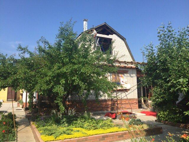 Общий вид дачного дома до реконструкции