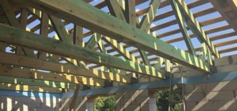 Фотоотчет: реконструкция дачного дома — выполнение полноценного второго этажа
