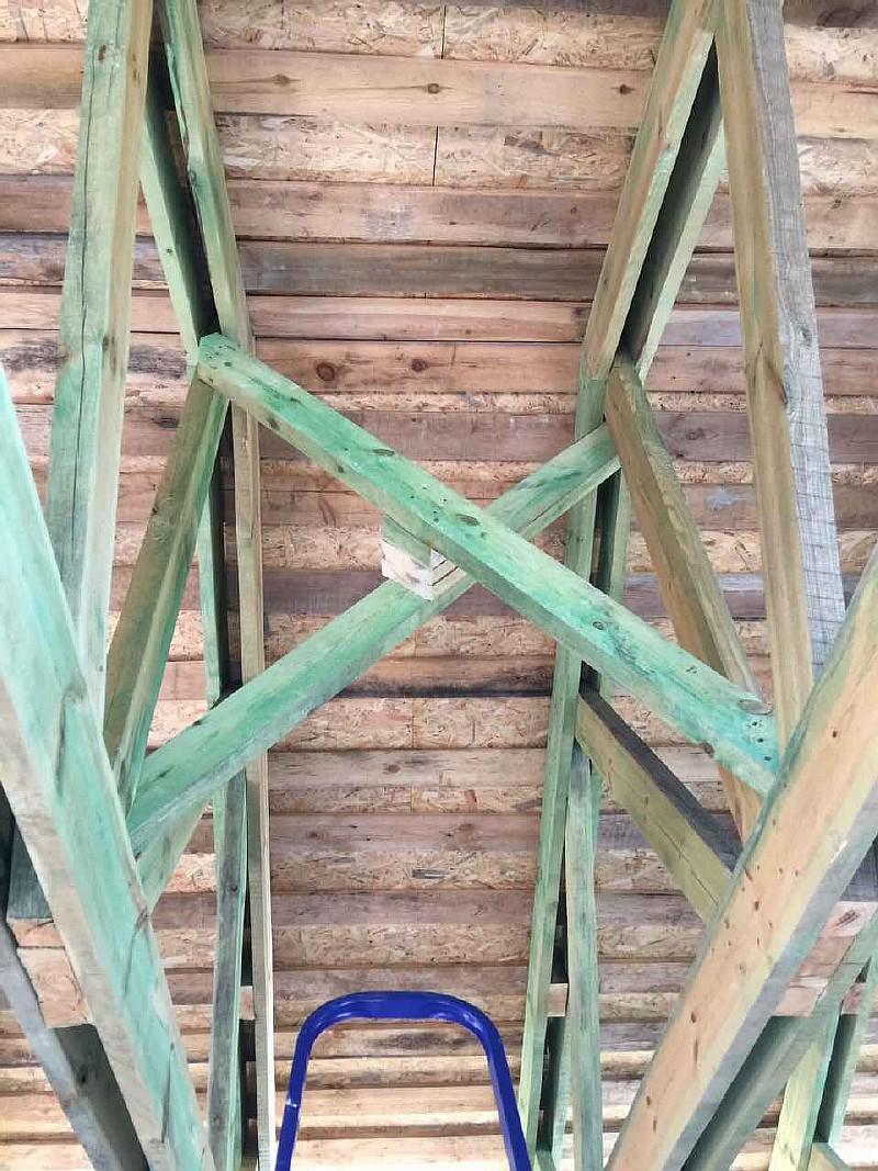 Вертикальная связь покрытия