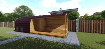 Проект бани-сауны «Коло» — на 5 человек с постройкой за 7-10 дней