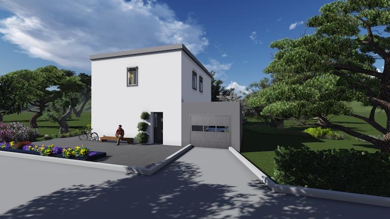 """Проект двухэтажного жилого дома """"Эконом"""""""