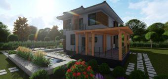Проект двухэтажного дома «Аллан-1»