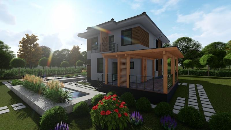 """Проект двухэтажного дома """"Аллан-1"""""""