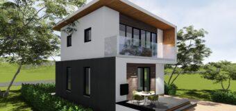 """Проект частного дома """"Five"""" — дом для семьи с двумя детьми"""
