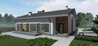 """Проект одноэтажного дома со SPA """"Summer vibes"""""""