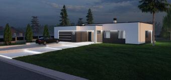 Жилой одноэтажный дом «Cool»