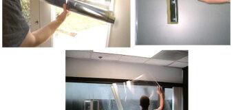 Пленки энергосберегающие на окнах